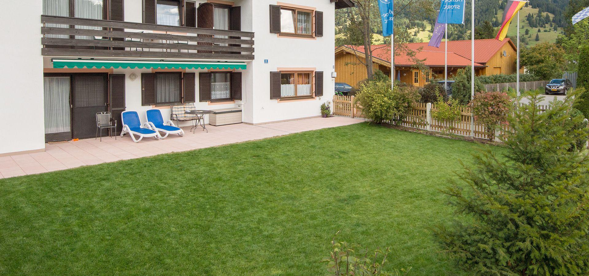Fewo Britta mit grossem Garten
