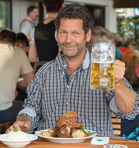 Mann-Bier-Essen