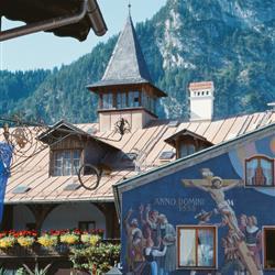 Blick auf Kofel in den Ammergauer Alpen